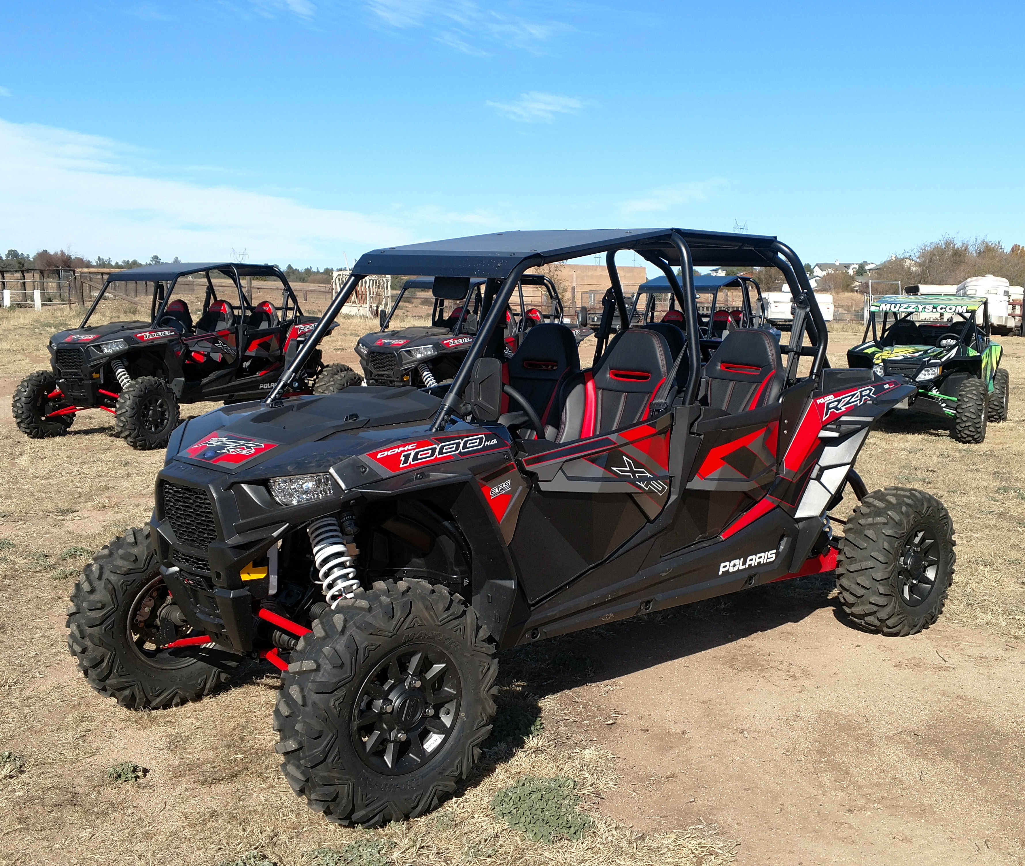 polaris rzr xp 4 1000 prescott atv rentals. Black Bedroom Furniture Sets. Home Design Ideas